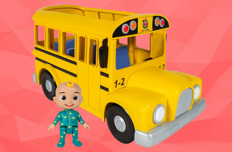 Musical Toy School Bus